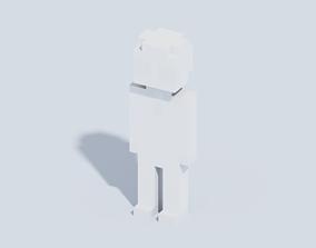 Voxel Human FREE 3D asset