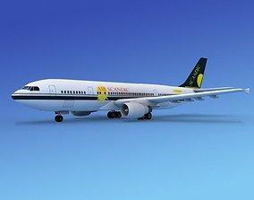 Airbus A300 Air Scandic 3D