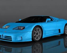 3D asset Bugatti EB110