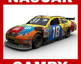 Nascar 2009 Car - Kyle Busch Toyota Camry 18 3D model