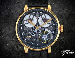 3D Watch mechanism time