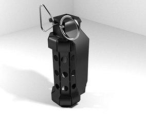 Hand Grenade Stun 3D model