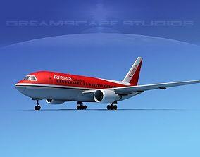 Boeing 767-200ER Avianca 3D model