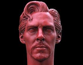 Doctor Strange Head 3D print model sherlock