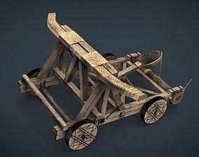 3D Medieval Catapult
