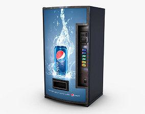 3D model Vending Machine Pepsi