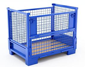 3D Collapsible Transportation Box Pallet