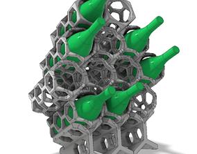 Wine Rack - Wein-Regal 3D printable model