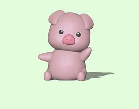 3D printable model Cute Pig
