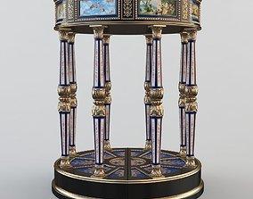 3D Porcelain Table