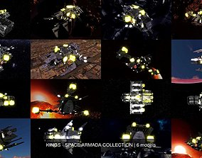 KINGS - SPACE ARMADA COLLECTION 3D