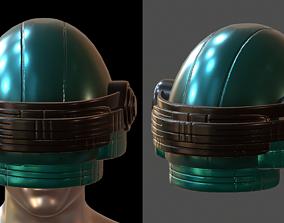 Gas mask helmet game-ready 4