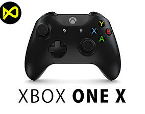 3D model Xbox One X Controller 2017