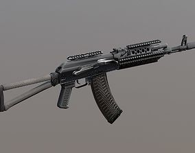 PBR AK-47 Tactical Assault rifle Special Forces 3D asset
