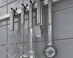 3D model Kitchen Accessories Set 1