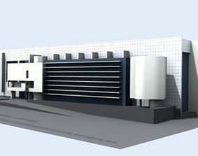 Macba museum 3D model