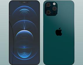 Iphone 12 Pro Max bluepacific 3D