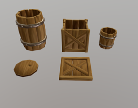 3D model Medieval Props