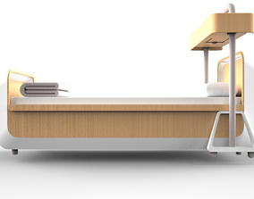 DESIGN FOR EVERYONE DISABLED BED HOUSE TYPE 3D