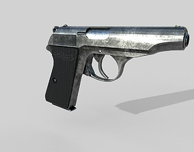3D model Walther PP