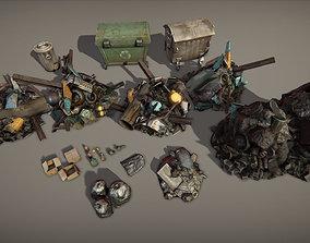 3D model Garbage pack