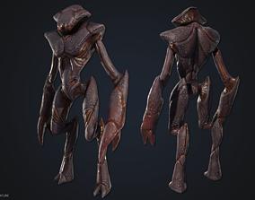 Crustacean creature 3D asset
