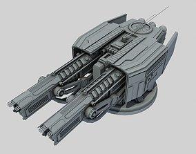 Ion turret class sb1 3D model