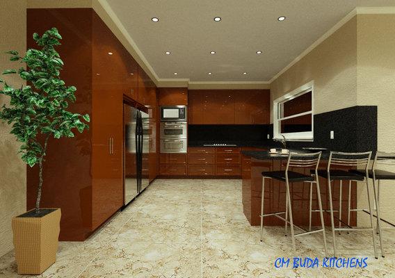 Kitchen Render 3d Model