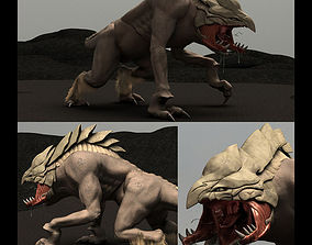 King of Predators Rigged Model rigged