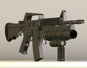 3D M4 Grip Tactical