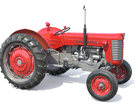 Massey Ferguson 65 3D asset