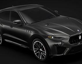 3D model Maserati Levante Trofeo 2019