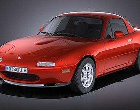 Mazda MX-5 Miata 1989-1997 VRAY 3D model