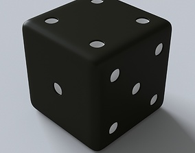 3D model Dice cube