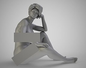 Daydreaming Sitting 3D printable model