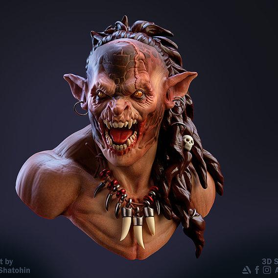 Orc Head