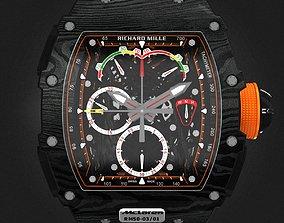 Richard Mille RM 50-03 Watch With Orange 3D