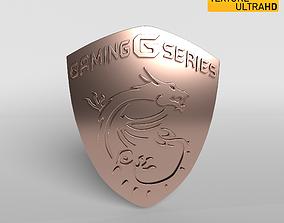 3D model MSI Logo 04 - 8K Texture art