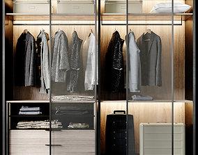 3D Poliform Wardrobe Set 01