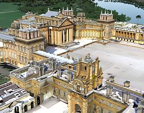 3D model realtime Blenheim Palace