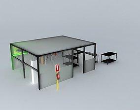 3D model COMESA welding workshop obs