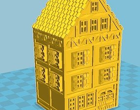 3D print model Medieval House 02