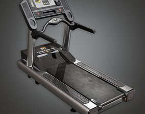Treadmill 01a - Sports And Gym 3D model