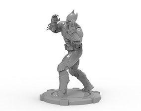 marvel 3D print model Batman - Mma Kick
