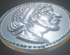 Egyptian coin - 3d printing