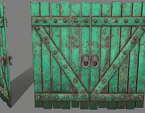 Medieval Door 3D model VR / AR ready