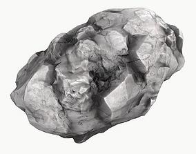 3D model Meteor Asteroid Rock 4K