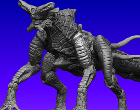Pacific rim Slattern Neca Inspired Action 3D