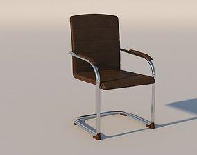 3D model Modern Office Chair sink