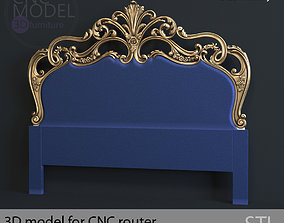 BED luxury for CNC router 3D model